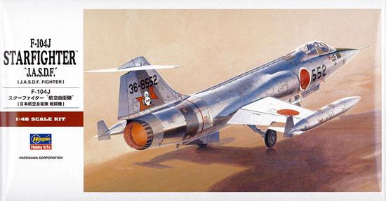 F-104J スターファイター 航空自衛隊プラモデル(ハセガワ1/48 飛行機 PTシリーズNo.PT018)商品画像
