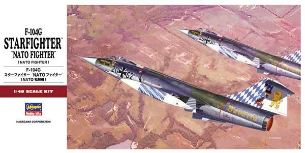F-104G スターファイター NATO ファイタープラモデル(ハセガワ1/48 飛行機 PTシリーズNo.PT020)商品画像
