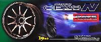 アオシマ1/24 Sパーツ タイヤ&ホイールボルクレーシング CE28N (19インチ)