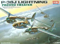 アカデミー 1/72 Scale Aircrafts P-38J ライトニング PACIFIC THEATER