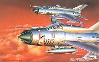 フジミ1/72 飛行機 (定番外)MiG-21 MF ピンナップ ミグ