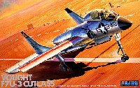 フジミAIR CRAFT (シリーズH)F7U-3 カットラス