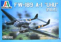 イタレリ1/72 航空機シリーズフォッケウルフ Fw189 A1 ウーフー