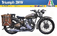 WW2 イギリス 軍用バイク トライアンフ 3HW