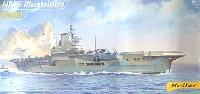 エレール1/400 艦船モデルHMS 空母イラストリアス