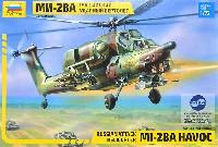 ズベズダ1/72 エアクラフト プラモデルMi-28A ハボック ロシア 攻撃ヘリコプター