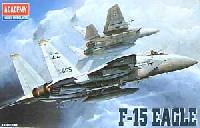 アカデミー1/144 Scale AircraftsF-15 イーグル