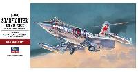 ハセガワ1/48 飛行機 PTシリーズF-104C スターファイター アメリカ空軍