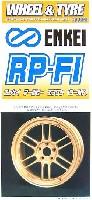 フジミ1/24 パーツメーカーホイールシリーズエンケイ RP-F1 ゴールド (17インチ)