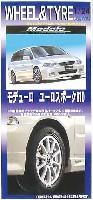 フジミ1/24 パーツメーカーホイールシリーズモデューロ ユーロスポーク R10 (17インチ)