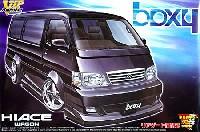 アオシマ1/24 VIP アメリカンハイエース ボクシー