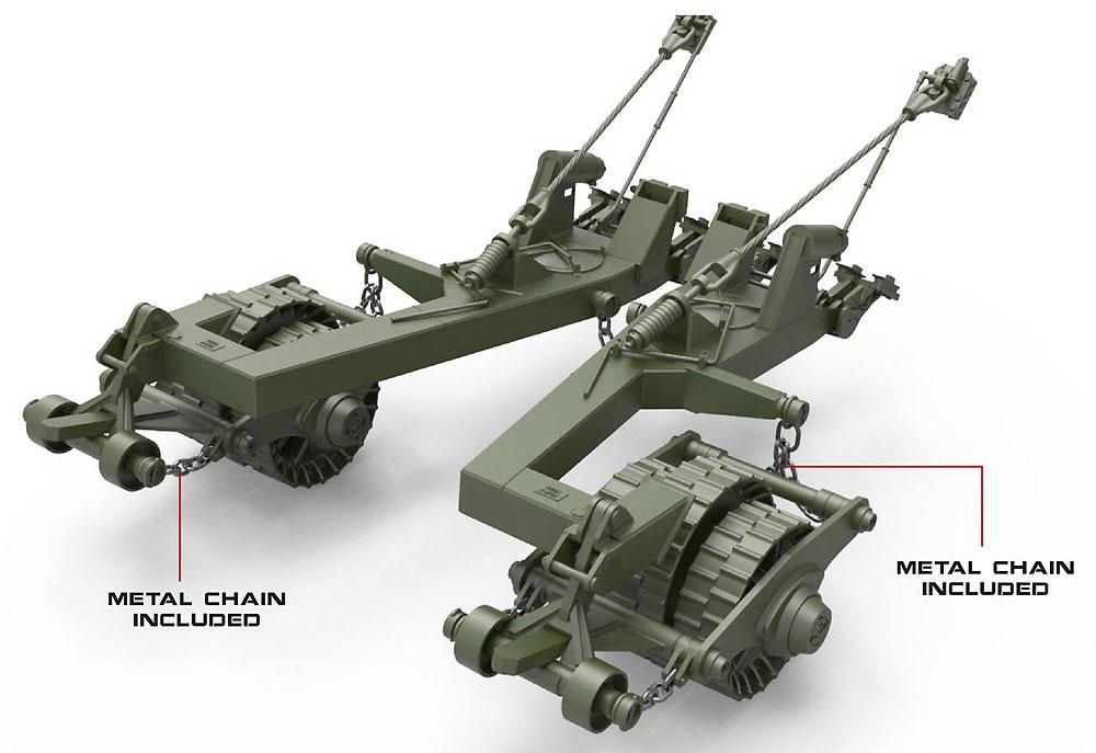 KMT-7 マインローラー 初期型プラモデル(ミニアート1/35 ミリタリーミニチュアNo.37070)商品画像_2