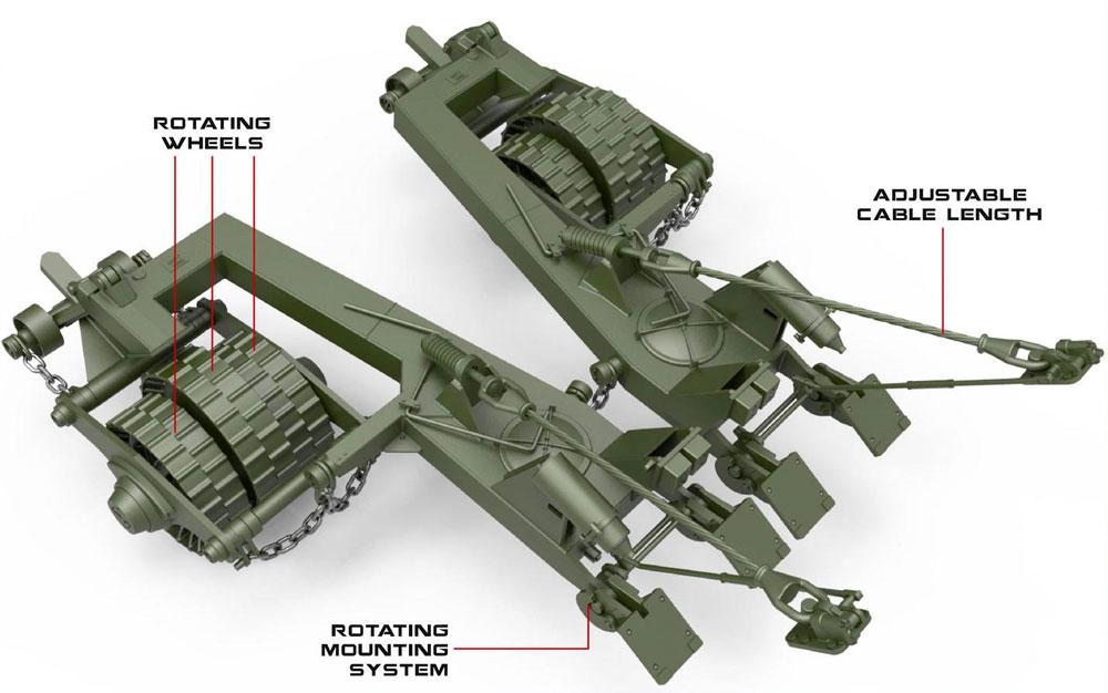 KMT-7 マインローラー 初期型プラモデル(ミニアート1/35 ミリタリーミニチュアNo.37070)商品画像_3