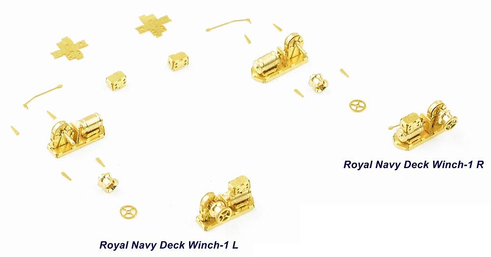 ウィンチセット C イギリス海軍用エッチング(インフィニモデル1/350 艦船用エッチングパーツNo.IMP-35042R1)商品画像_2