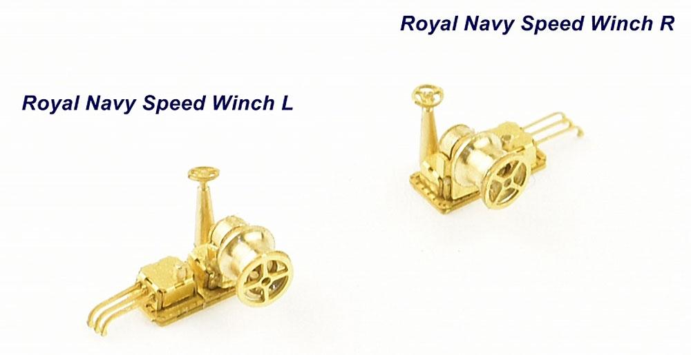 ウィンチセット C イギリス海軍用エッチング(インフィニモデル1/350 艦船用エッチングパーツNo.IMP-35042R1)商品画像_4