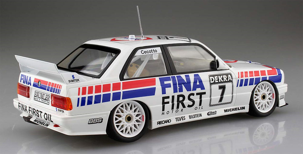 BMW M3 E30 スポーツエボリューション '92 ドイツ仕様プラモデル(BEEMAX1/24 カーモデルNo.024)商品画像_3