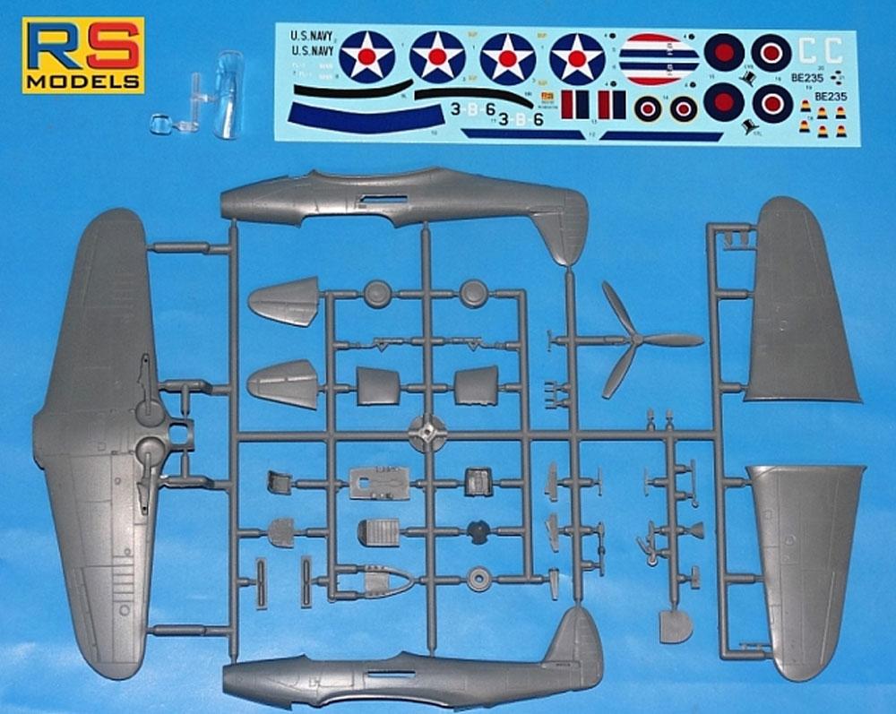 XFL-1 エアロボニータ アメリカ海軍 戦闘機プラモデル(RSモデル1/72 エアクラフト プラモデルNo.92232)商品画像_2