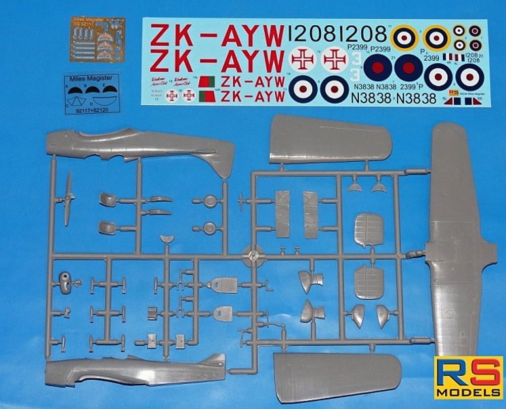 マイルズ マジスター イギリス 練習機プラモデル(RSモデル1/72 エアクラフト プラモデルNo.92236)商品画像_2