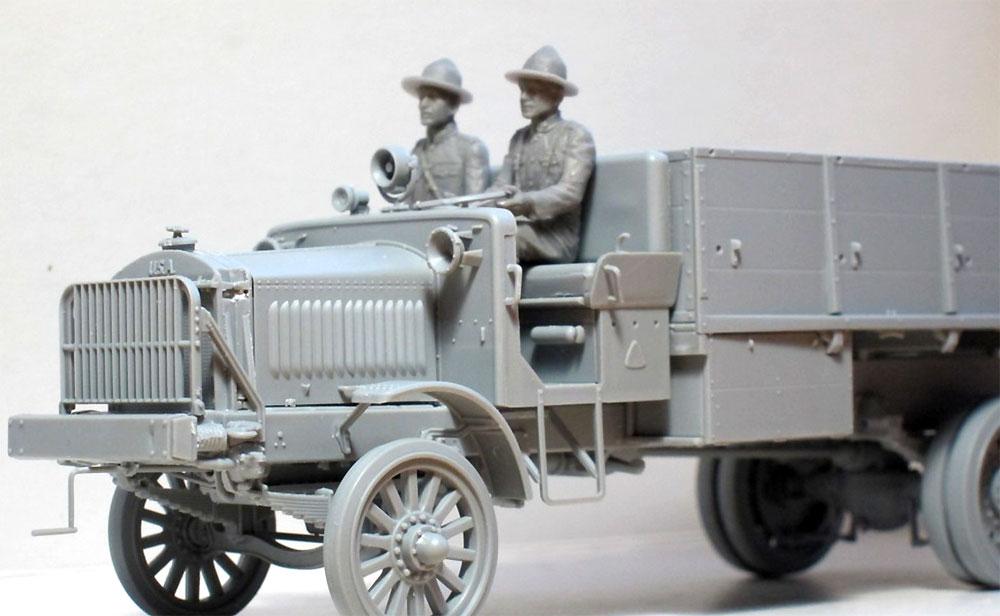 US ドライバーズ 1917-1918プラモデル(ICM1/35 ミリタリービークル・フィギュアNo.35706)商品画像_2