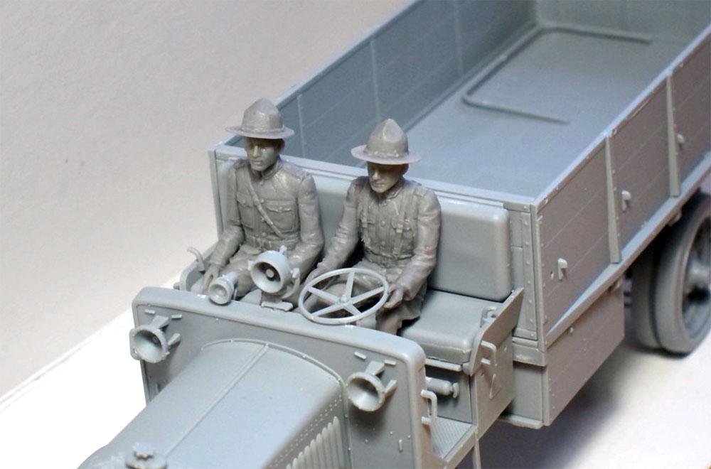 US ドライバーズ 1917-1918プラモデル(ICM1/35 ミリタリービークル・フィギュアNo.35706)商品画像_3