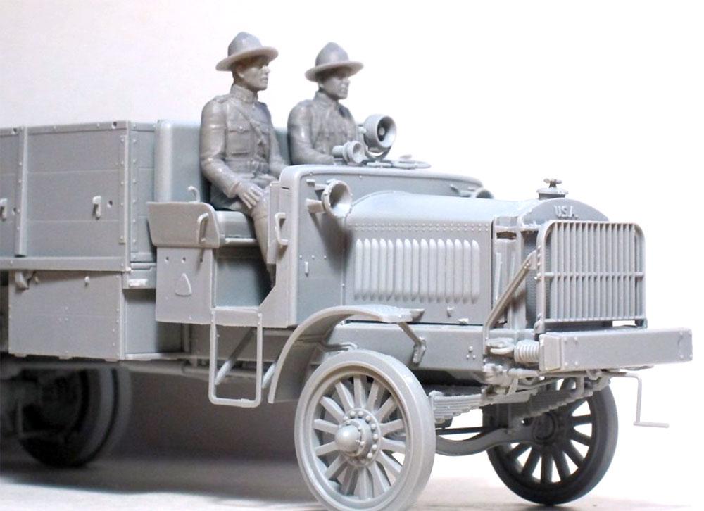 US ドライバーズ 1917-1918プラモデル(ICM1/35 ミリタリービークル・フィギュアNo.35706)商品画像_4