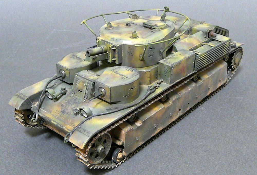 T-28 ソビエト中戦車プラモデル(ズベズダ1/35 ミリタリーNo.3694)商品画像_2