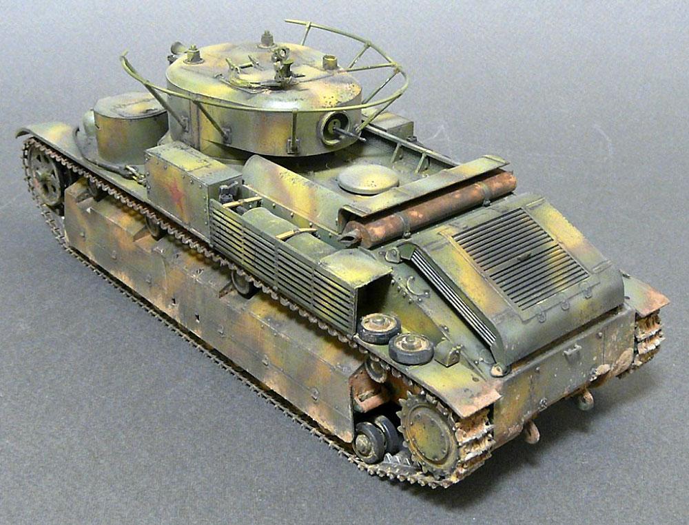 T-28 ソビエト中戦車プラモデル(ズベズダ1/35 ミリタリーNo.3694)商品画像_3