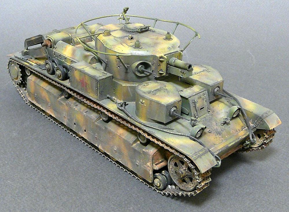 T-28 ソビエト中戦車プラモデル(ズベズダ1/35 ミリタリーNo.3694)商品画像_4