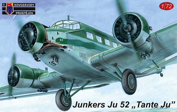 ユンカース Ju52 タンテ・ユープラモデル(KPモデル1/72 エアクラフト プラモデルNo.KPM0128)商品画像
