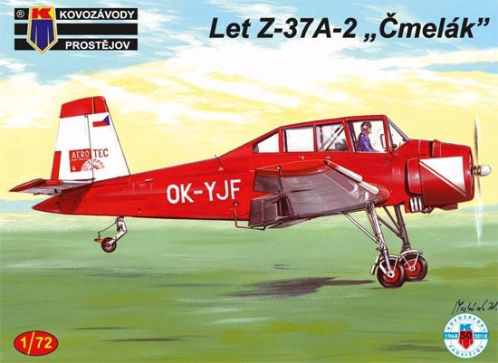 LET Z-37A-2 チメラックプラモデル(KPモデル1/72 エアクラフト プラモデルNo.KPM0129)商品画像