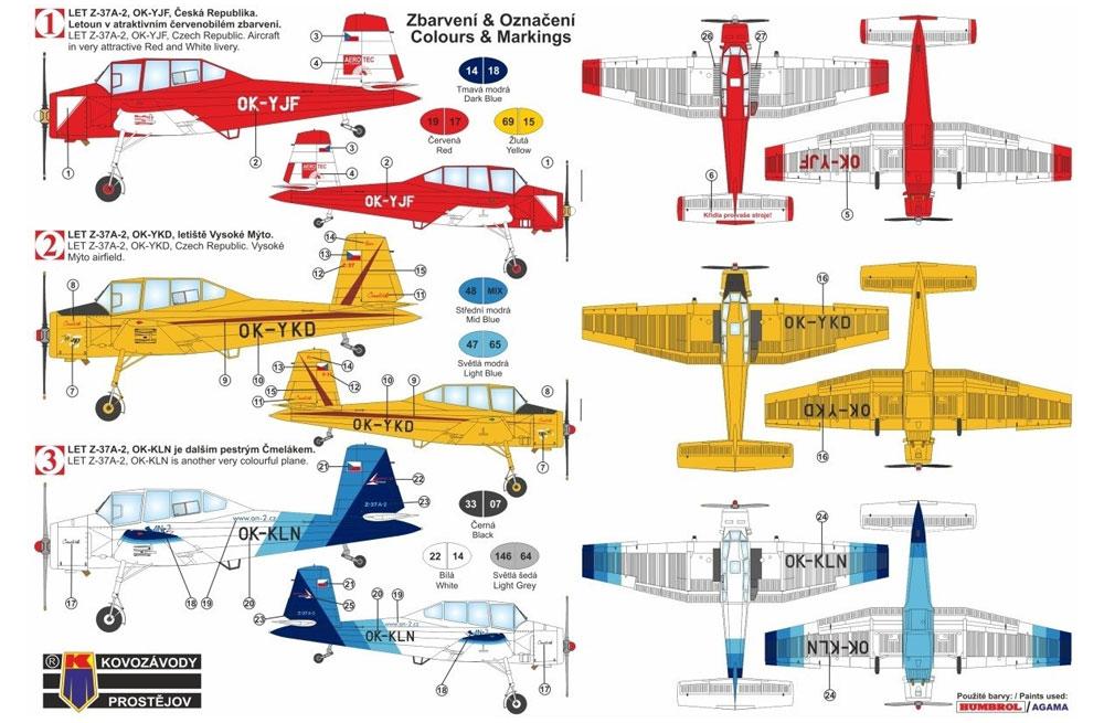LET Z-37A-2 チメラックプラモデル(KPモデル1/72 エアクラフト プラモデルNo.KPM0129)商品画像_1