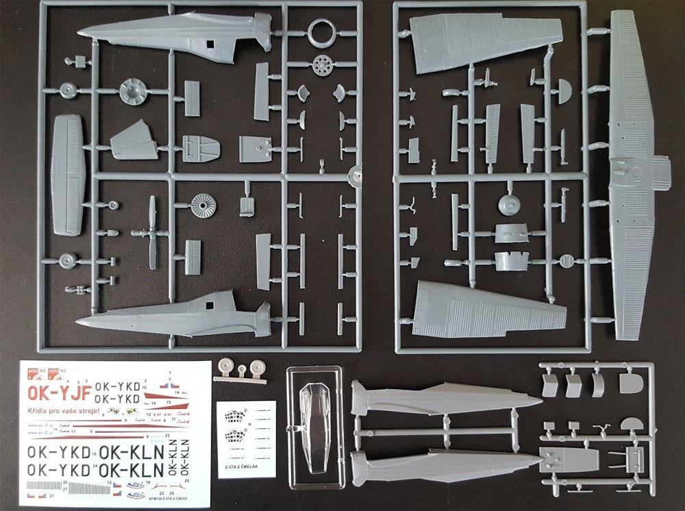 LET Z-37A-2 チメラックプラモデル(KPモデル1/72 エアクラフト プラモデルNo.KPM0129)商品画像_2