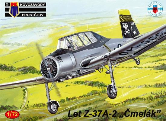 LET Z-37A-2 チメラック 海外仕様プラモデル(KPモデル1/72 エアクラフト プラモデルNo.KPM0130)商品画像