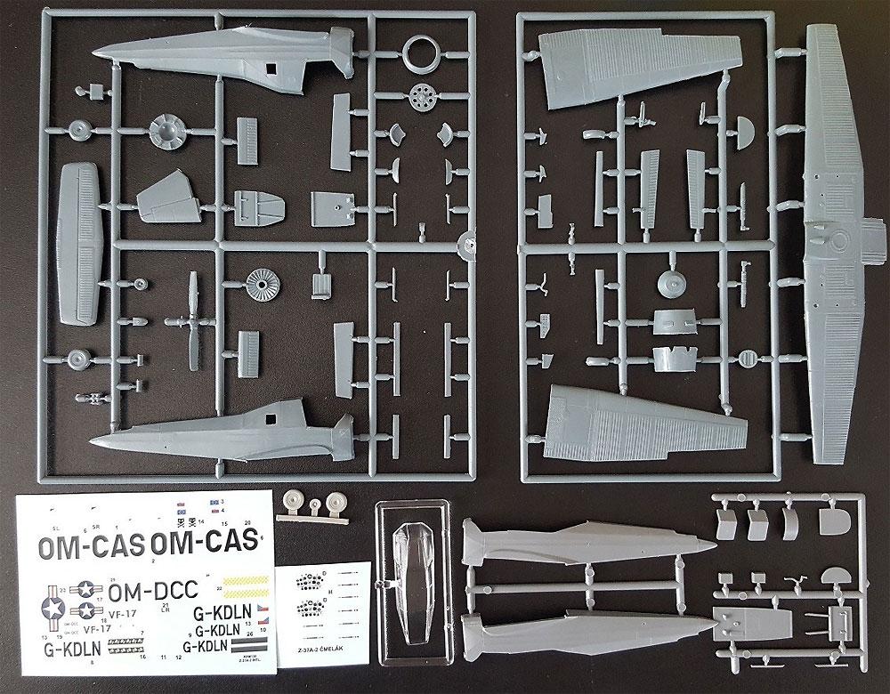 LET Z-37A-2 チメラック 海外仕様プラモデル(KPモデル1/72 エアクラフト プラモデルNo.KPM0130)商品画像_1