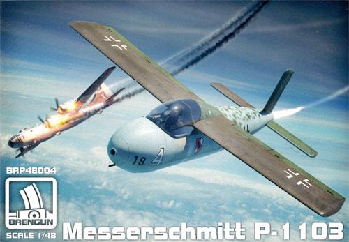 メッサーシュミット P-1103 ロケット戦闘機プラモデル(ブレンガン1/48 プラスチックキット (Plastic Kits)No.BRP48004)商品画像