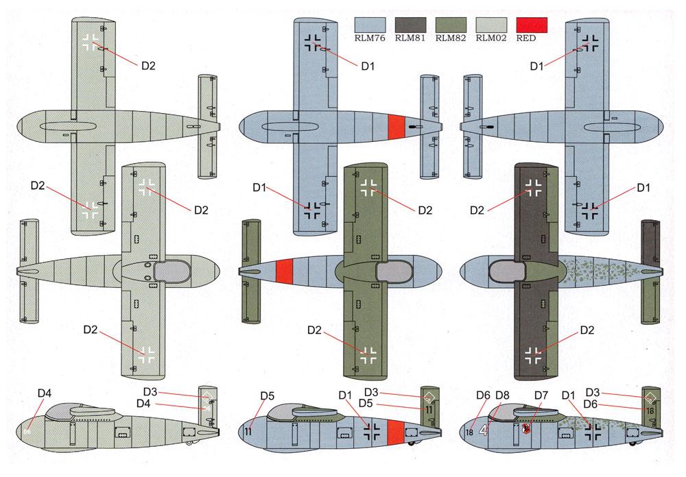 メッサーシュミット P-1103 ロケット戦闘機プラモデル(ブレンガン1/48 プラスチックキット (Plastic Kits)No.BRP48004)商品画像_3
