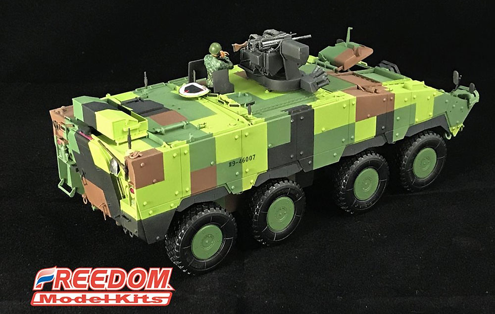 ROCA CM-33 雪豹 TICV w/40mm グレネードマシンガン RWSプラモデル(フリーダムモデル1/35 ミリタリーミニチュアワールドNo.15102)商品画像_3