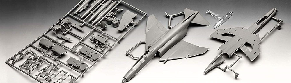 F-4E ファントムプラモデル(レベル1/72 飛行機No.03651)商品画像_1