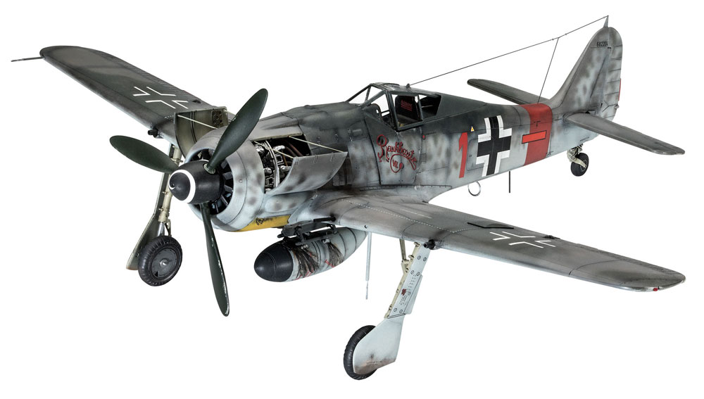 フォッケウルフ Fw190A-8/R-2 シュトゥルムボックプラモデル(レベル1/32 AircraftNo.03874)商品画像_2