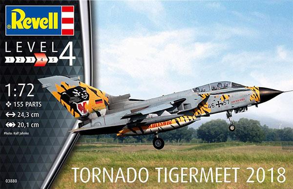 トーネード ECR タイガーミート 2018プラモデル(レベル1/72 飛行機No.03880)商品画像