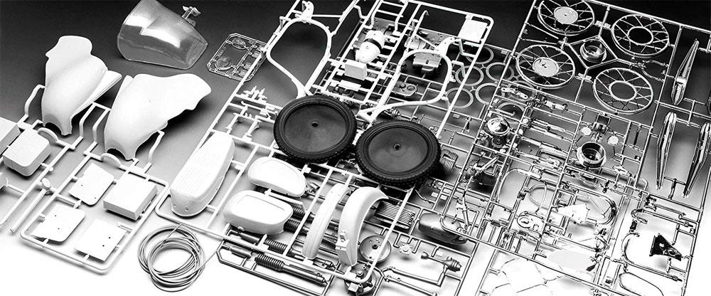 BMW R75/5 ポリスプラモデル(レベルバイクモデルNo.07940)商品画像_1