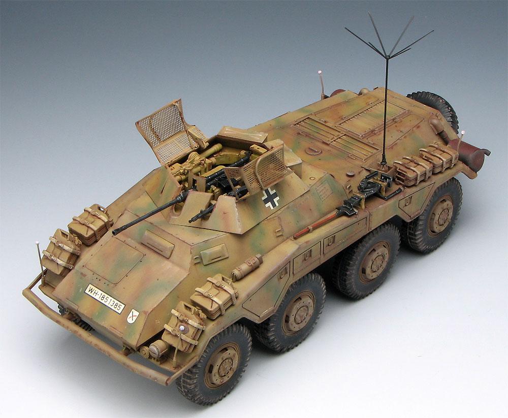 ドイツ Sd.kfz.234/1 8輪重装甲偵察車 2cm砲搭載型 プレミアムエディションプラモデル(ドラゴン1/35 '39-'45 SeriesNo.6879)商品画像_3