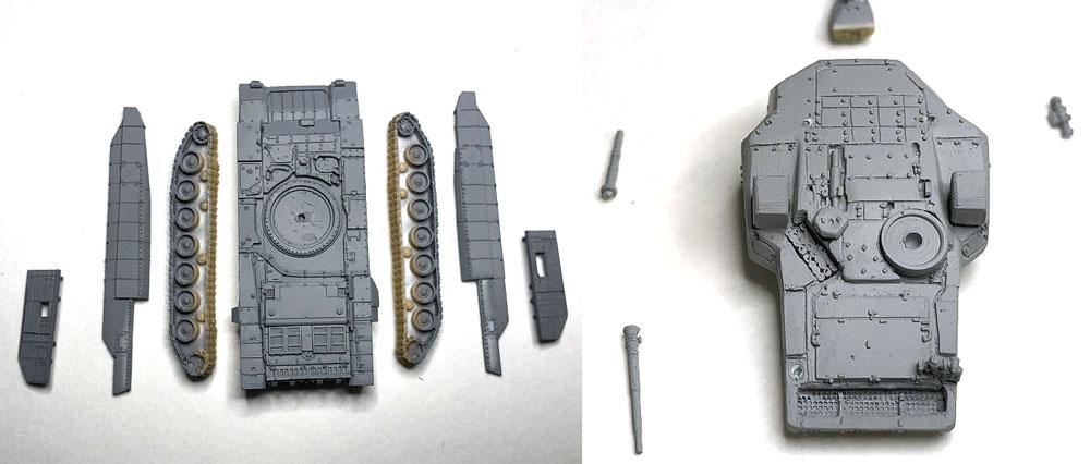 ロシア T-14 アルマータレジン(マツオカステン1/144 オリジナルレジンキャストキット (AFV)No.MTUAFV-112)商品画像_1