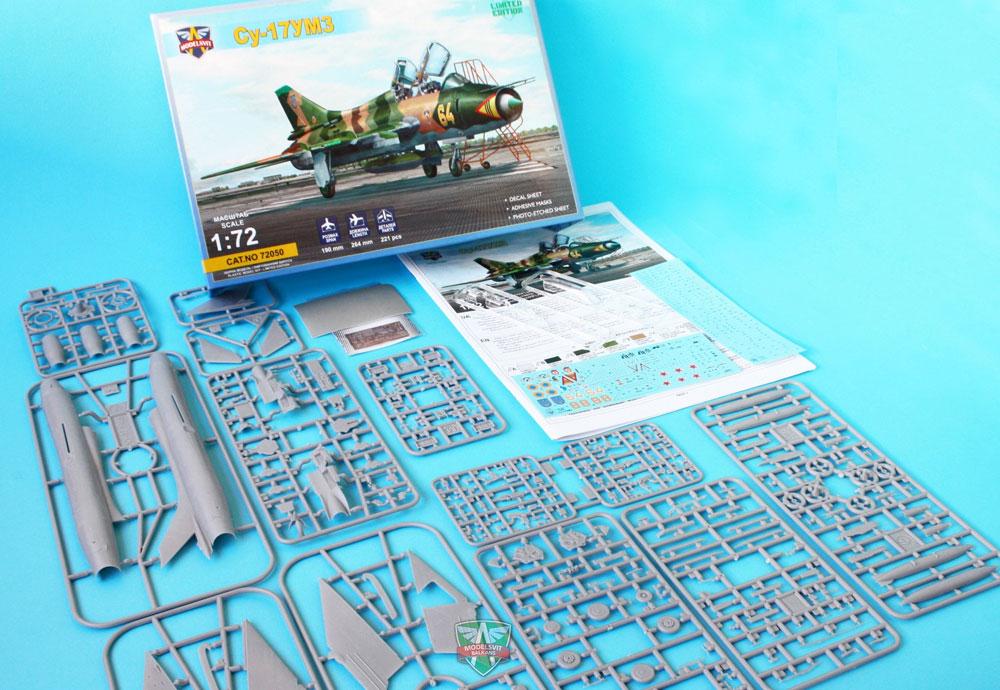 スホーイ Su-17UM3 複座練習機プラモデル(モデルズビット1/72 エアクラフト プラモデルNo.72050)商品画像_1