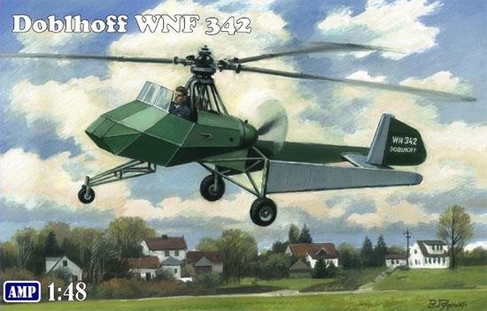 ドブルホフ WNF 342 ドイツ WW2 試作ヘリコプタープラモデル(AMP1/48 プラスチックモデルNo.48008)商品画像