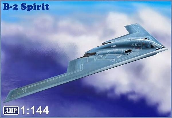 B-2 スピリットプラモデル(AMP1/144 プラスチックモデルNo.14002)商品画像
