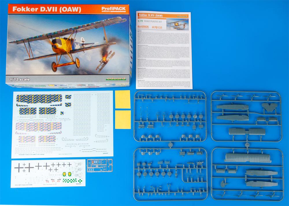 フォッカー D.7 OAWプラモデル(エデュアルド1/72 プロフィパックNo.70131)商品画像_1