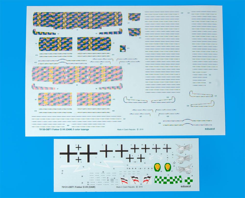 フォッカー D.7 OAWプラモデル(エデュアルド1/72 プロフィパックNo.70131)商品画像_2