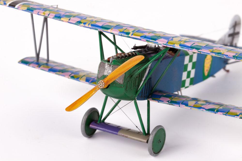 フォッカー D.7 OAWプラモデル(エデュアルド1/72 プロフィパックNo.70131)商品画像_4