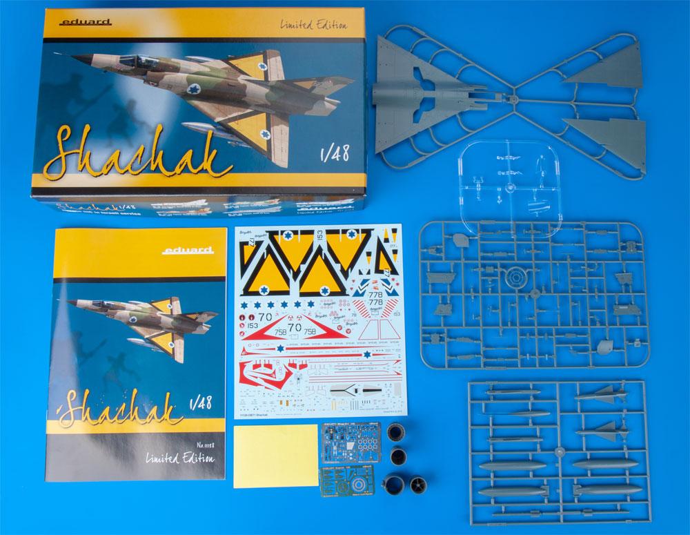 シャハク ミラージュ 3CJ イスラエル空軍プラモデル(エデュアルド1/48 リミテッドエディションNo.11128)商品画像_1